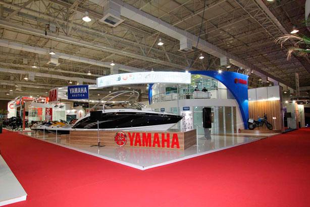 Stand Yamaha Boat Show 2011