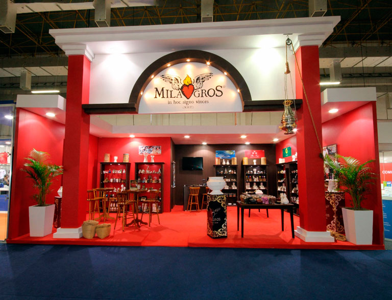 Stand Milagros Expo Catolica 2015