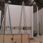 Construção de stands