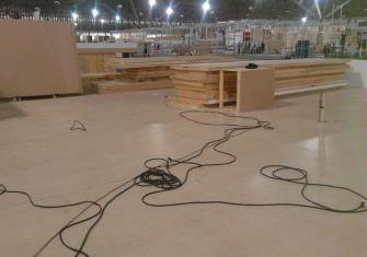 Empresas de construção de stands